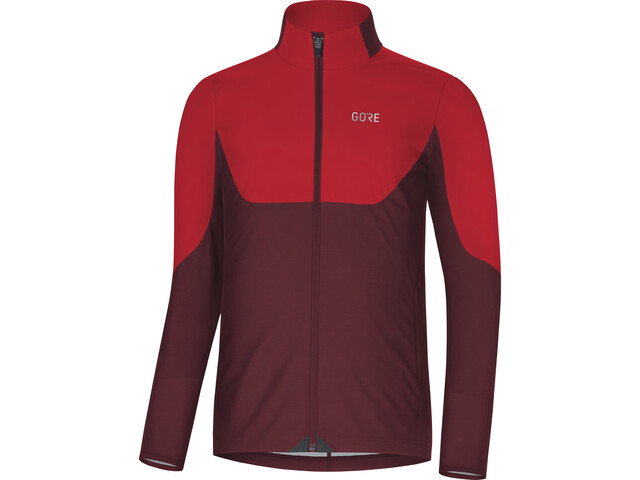 GORE WEAR R5 Windstopper Longsleeve Shirt Herren red/chestnut red